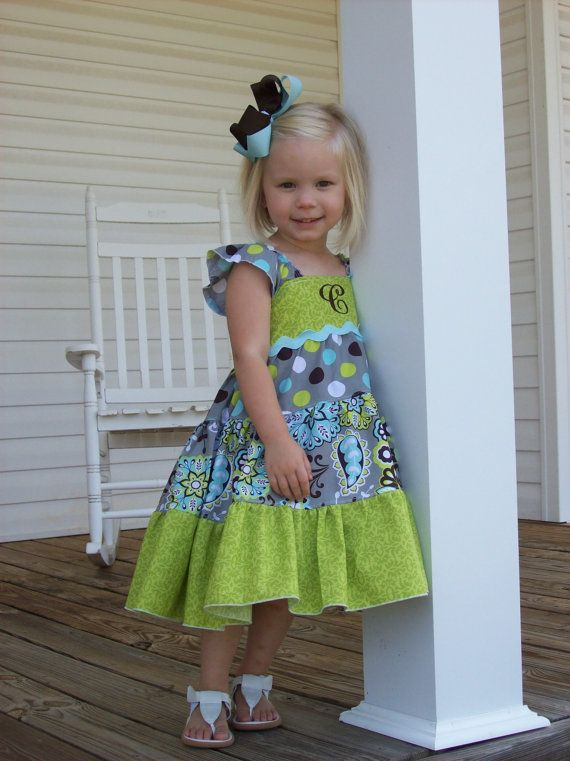 Ellie Dress PDF Sewing Pattern, including sizes 12 months- 14 years ...
