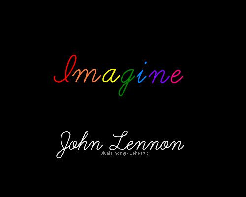 Imagine John Lennon Quote