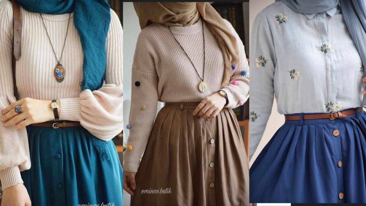 Trendy Skirt And Top Hijab Fashion Trendy Skirts Hijab Fashion Fashion