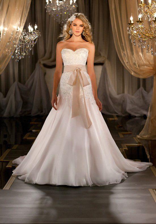 Martina Liana 411 3 Wedding Dress