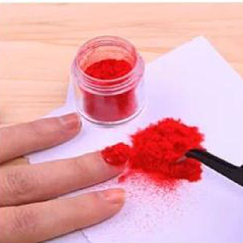 Velvet Flocking Powder Velvet Glitter Nail Powder Dust Nail Glitter Polish UV Gel Tips Velvet Manicure Tools Color Nail Glitter