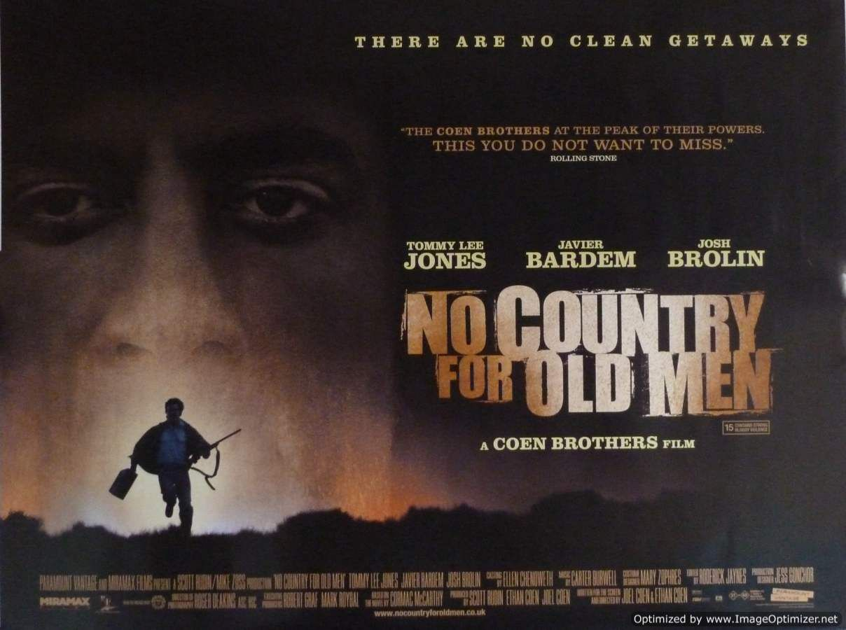Resultado de imagen para no country for old men pelicula
