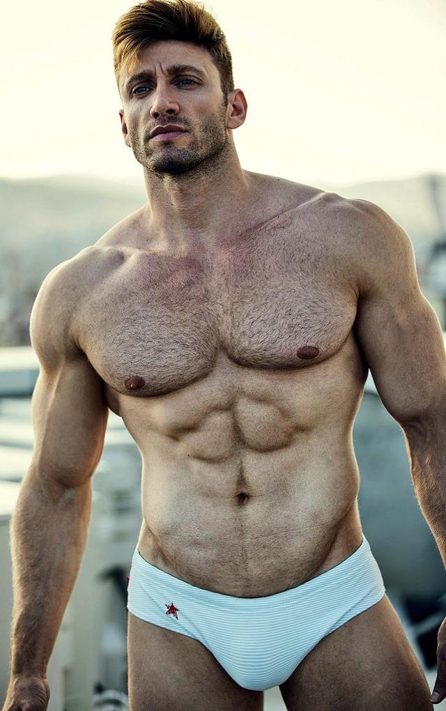 Hot Guy Hot Hairy Body