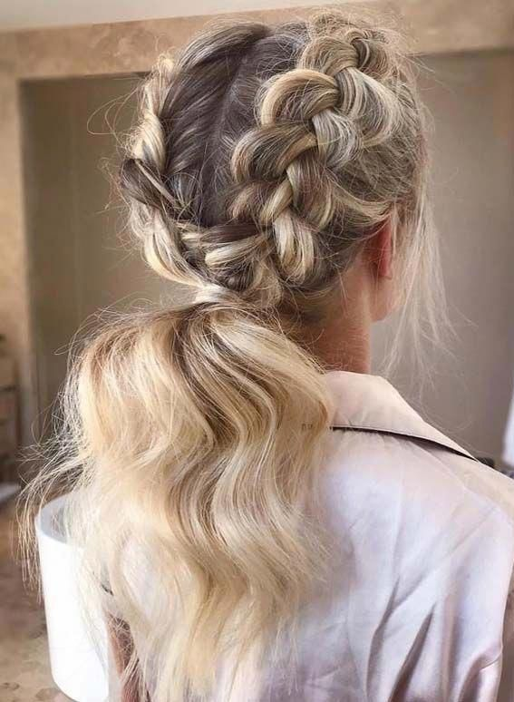 20 Stylish Side Braid Hairstyles For Long Hair Simple