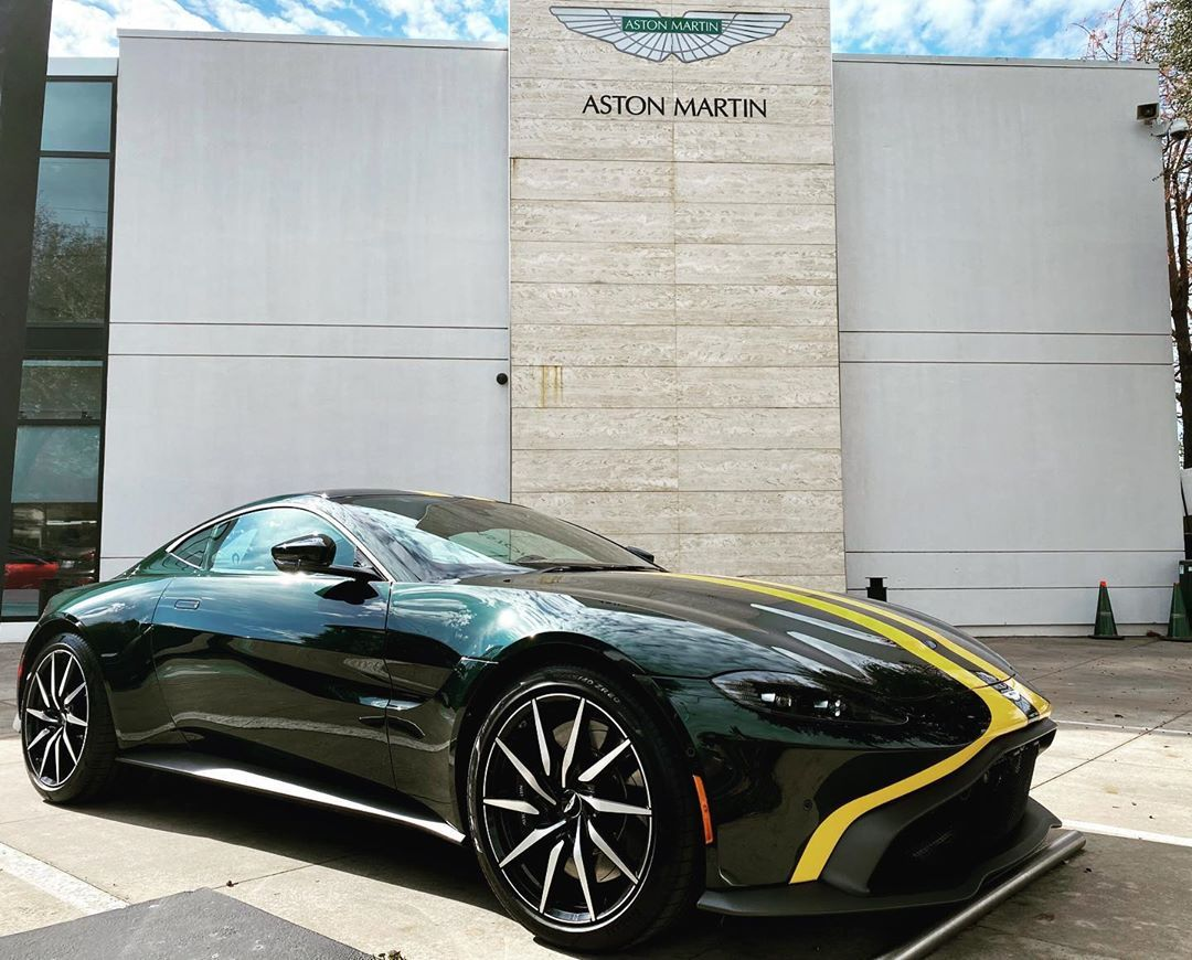 Aston Martin Of Dallas On Instagram Missing Your Normal Saturday Car Meet Well Good Morning Carsandcoffeeathome A In 2020 Aston Martin Aston Martin Vantage Car