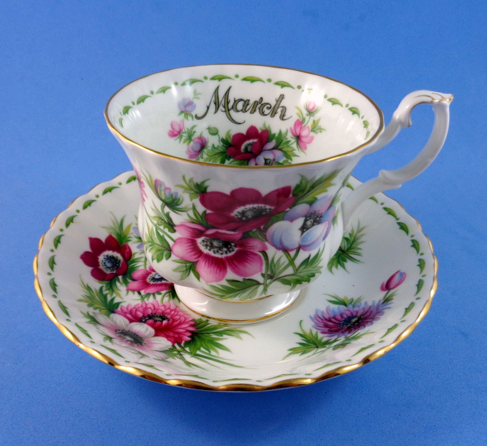 Details About Vintage Royal Albert Flower Of The Month