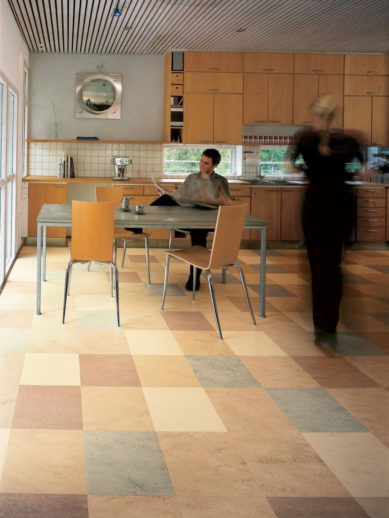 Green Flooring Ideas Marmoleum floors, Linoleum flooring