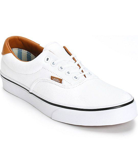 1a754a24a133b8 Get a crisp new look to add to your outfits with a true white canvas upper
