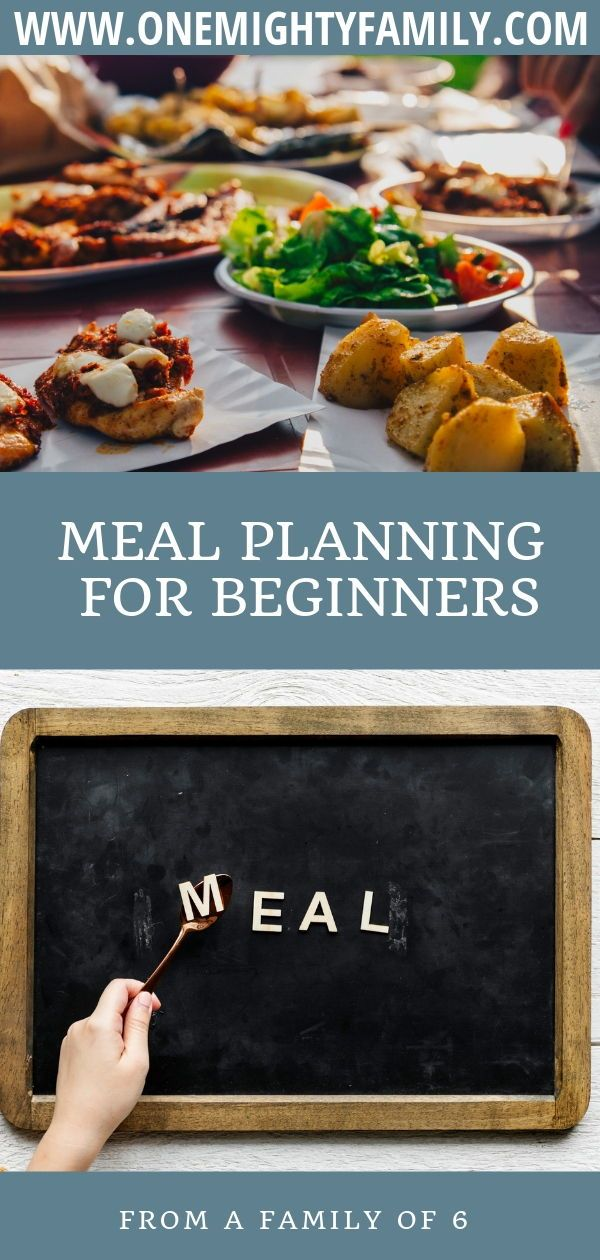 Getting started with meal planning images