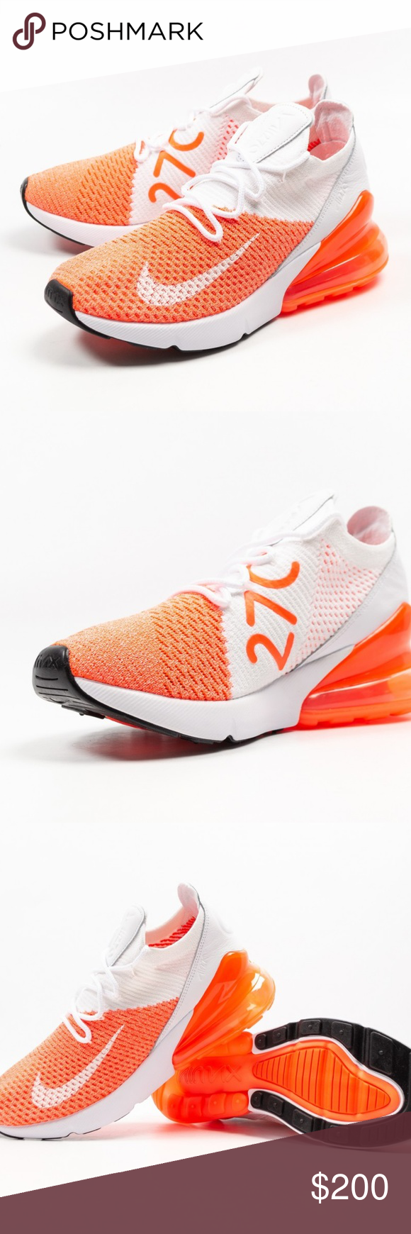 more photos 06f93 9b9c8 Nike Wmns Air Max 270 Flyknit Crimson Pulse sz10 Brand New ...