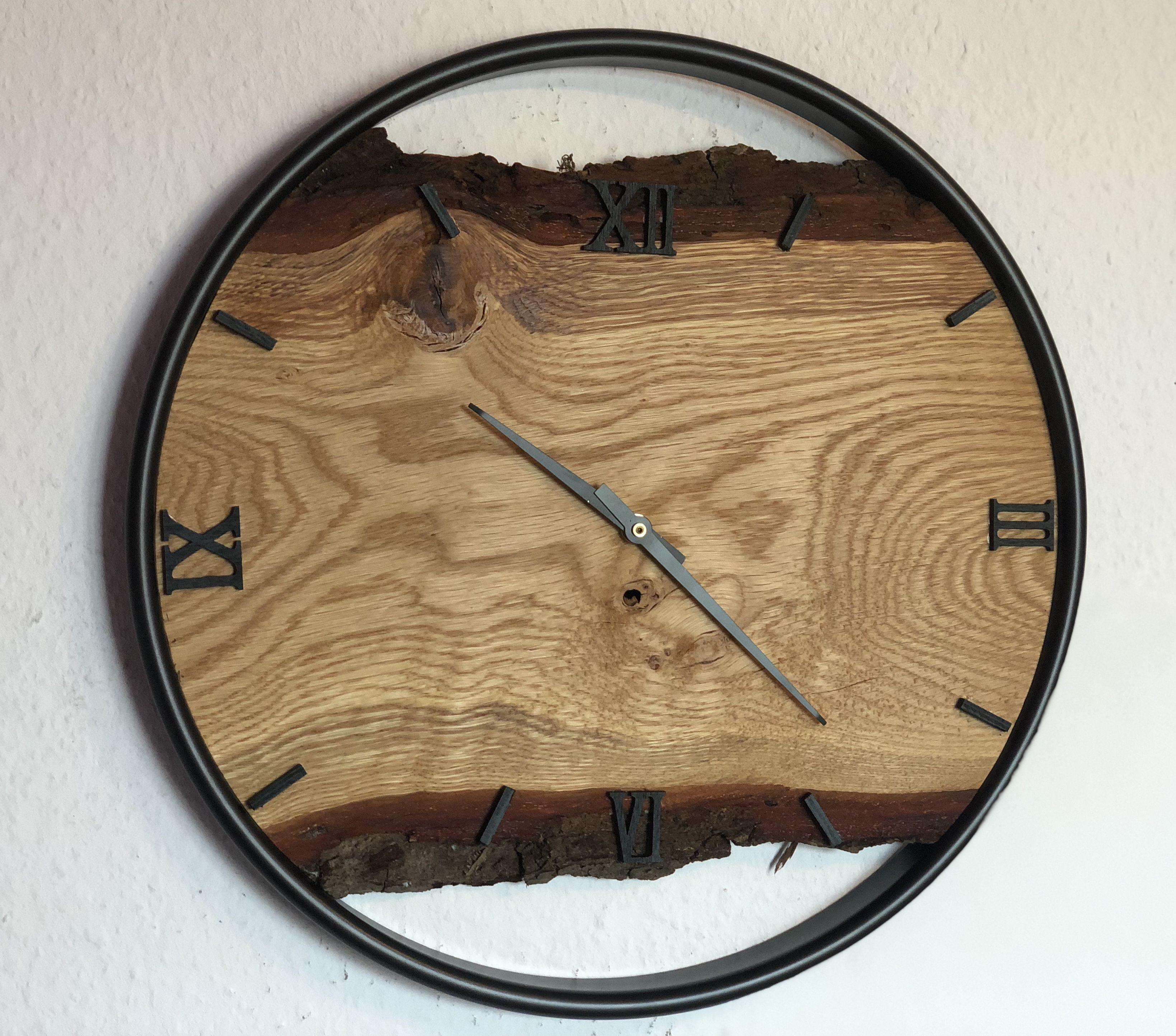 Klan Holzdesign Wanduhren Wanduhren Uhr Holz Wanduhr Holz