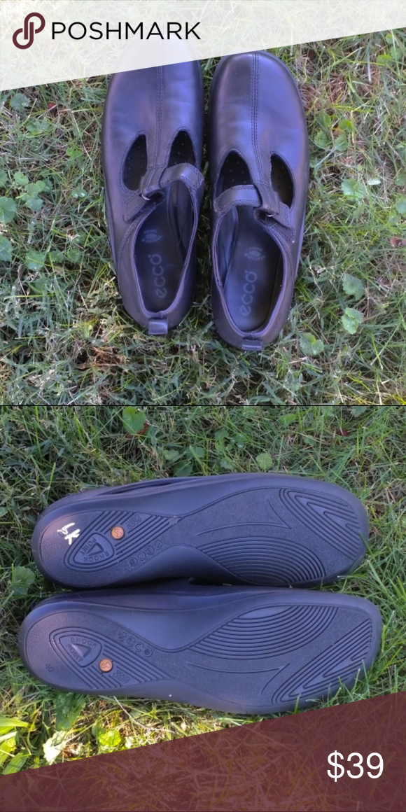 0329eb03326c ECCO Light Shock Point Black Shoes Eu40 ECCO Light Shock Point Black Shoes