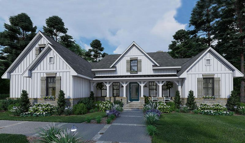 America S Best House Plans Home Designs Floor Plan Collections Farmhouse Style House Modern Farmhouse Plans Farmhouse Style House Plans