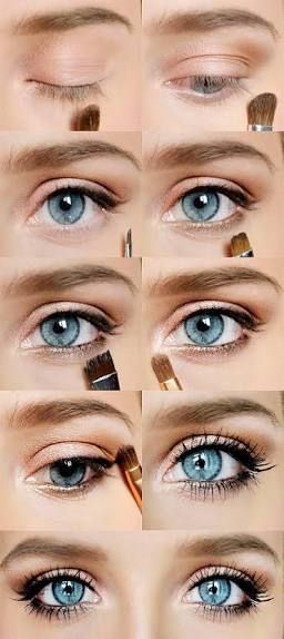 Photo of simple natural wedding make up blonde hair grey eyes – Google Search #NaturalEye…