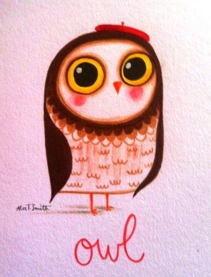'Owl' by Alex T. Smith
