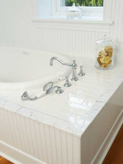 Beadboard And Tub Surround Bathtub Surround Bathtub
