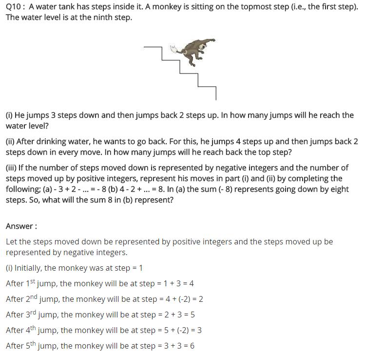 Ncert Solutions For Class 7 Maths Integers Exercise 1 1 11 Ncertsolutions Cbseclass7maths Ncertclass7maths Lea Math Integers Maths Ncert Solutions Math
