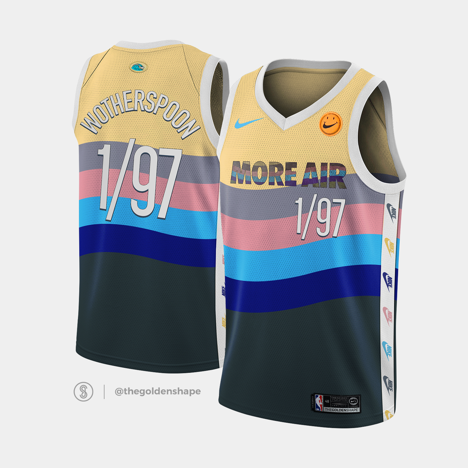 554309ae Sean Wotherspoon x NBA Jersey 1/97 More Air | threads | Sean ...