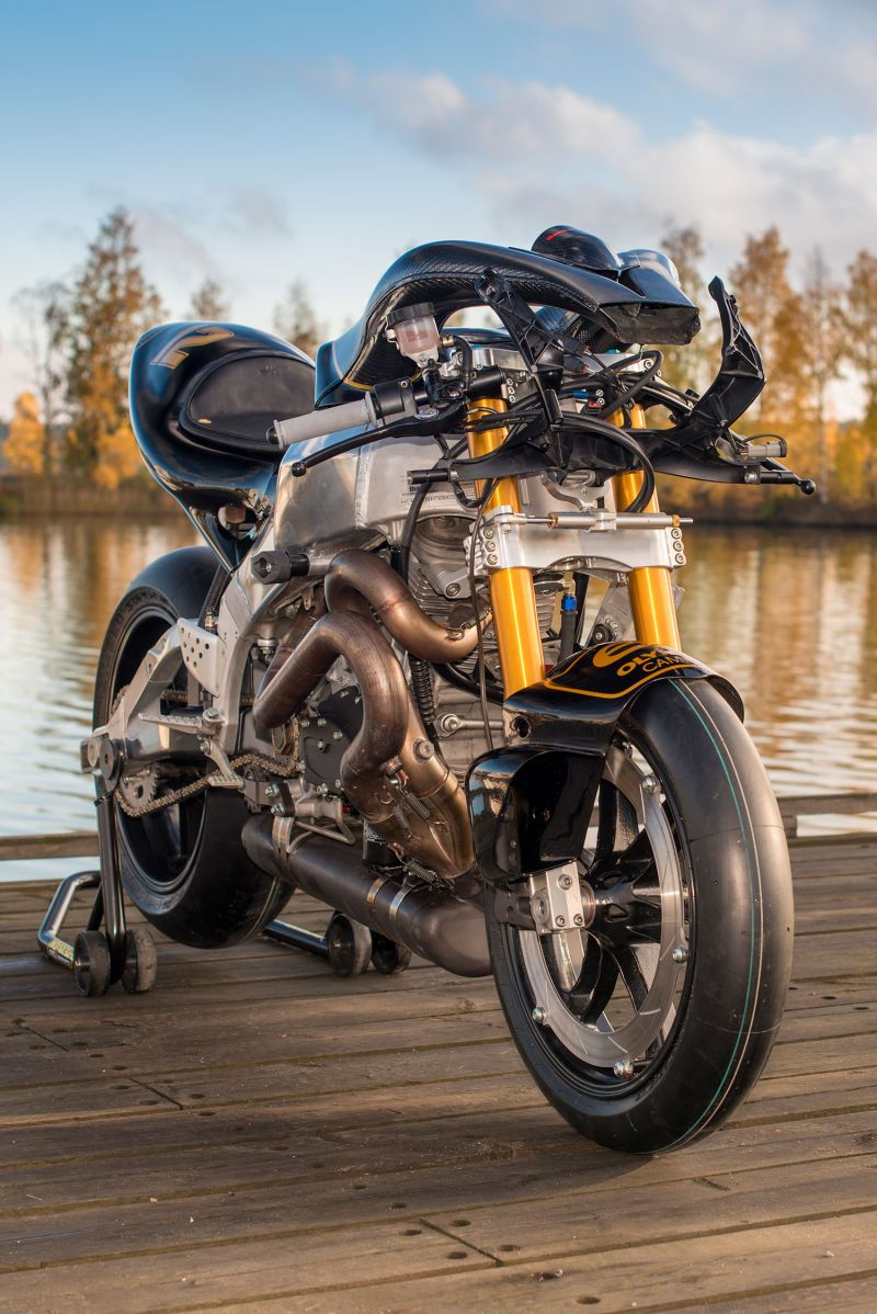 how to turn a wrecked buell xbrr into a john player special tribute wheels motorbikes and cars