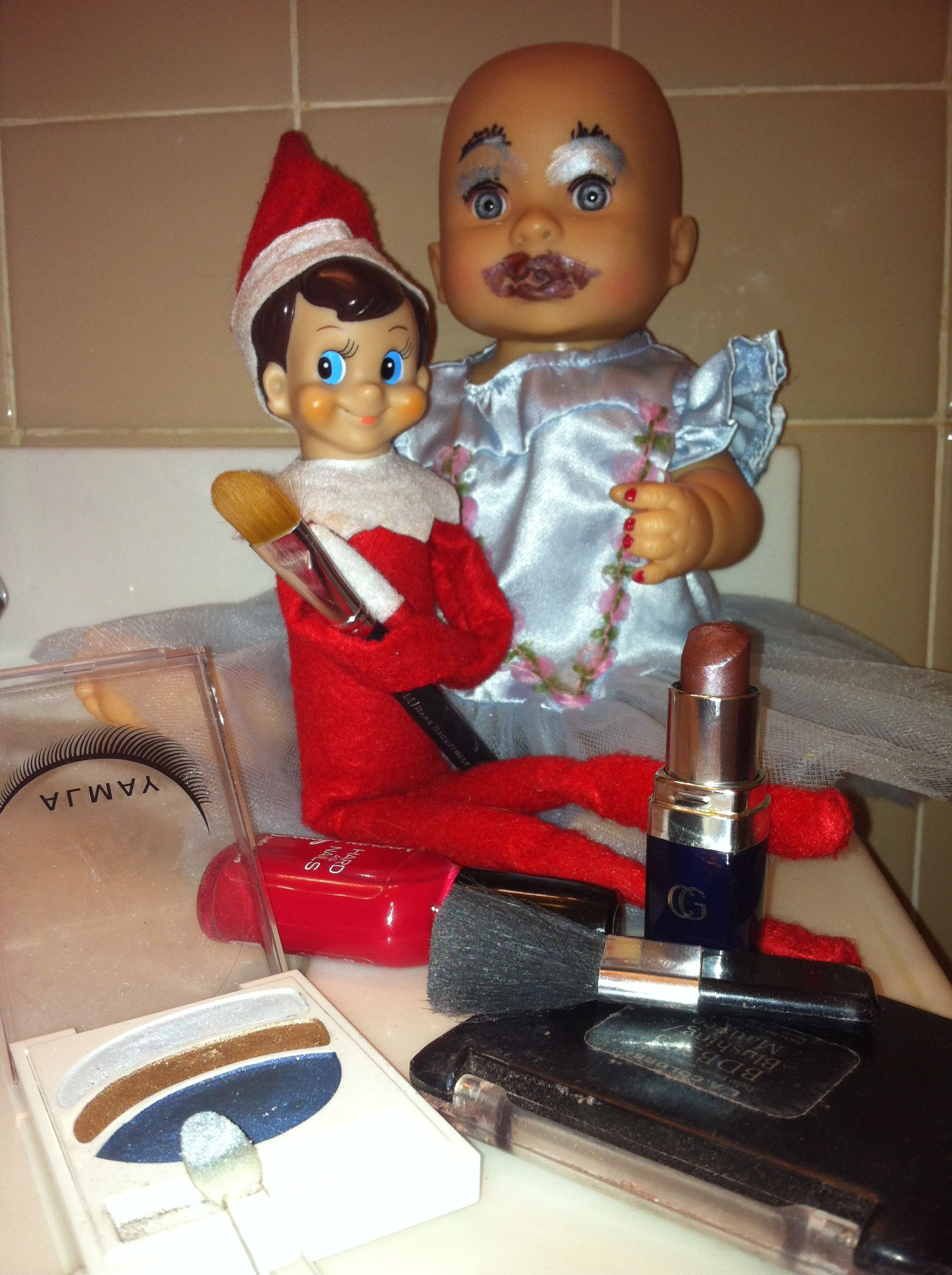 Well I certainly don't want Elfie to do my make up!