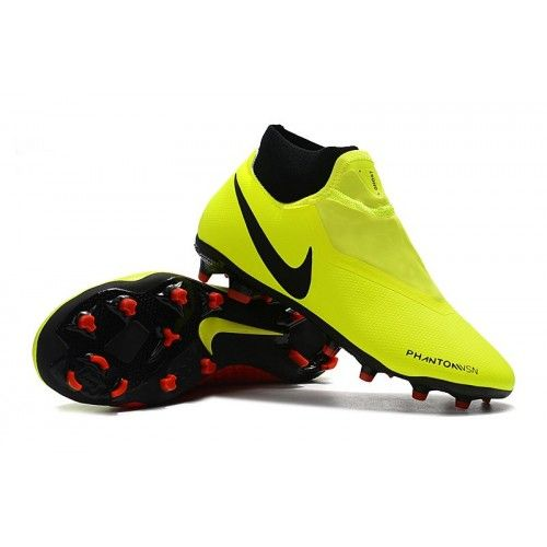 15980af8d Outdoor Nike Phantom Vision Elite DF FG Mens Football Boots - Yellow/Black/ Red