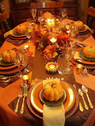 Canadian Thanksgiving #thanksgivingtablesettings
