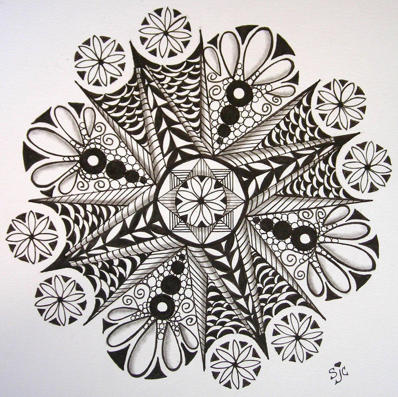 Zentangle Flower Tattoo zentangle flowers | | ...