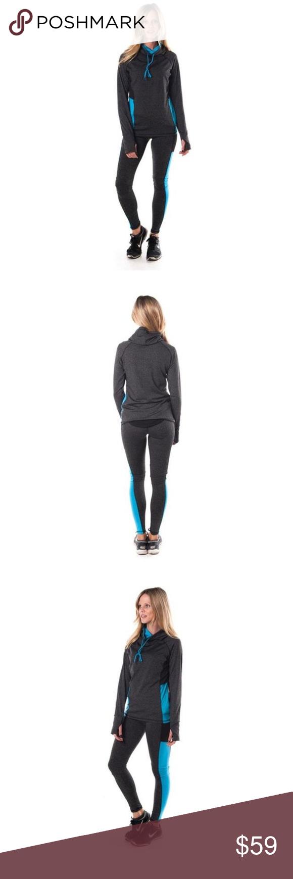 e19c37fc079 Curvy Yoga Zumba Pullover Jacket and Leggings Ladies fashion plus size  active sport yoga   zumba