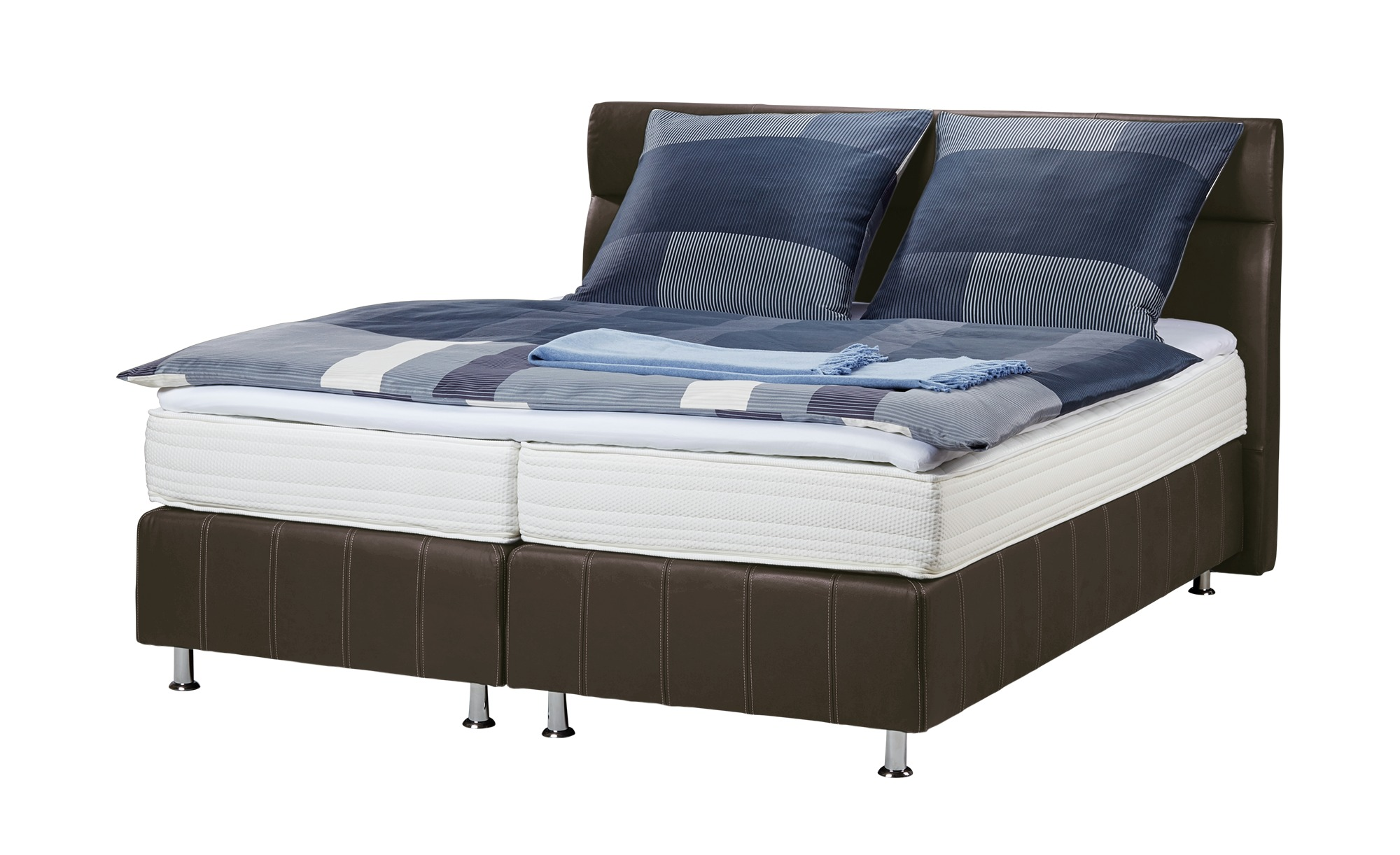 Bett 120x200 Höffner Boxspringbett 200x200 Braun Leder Bella 2 Products In