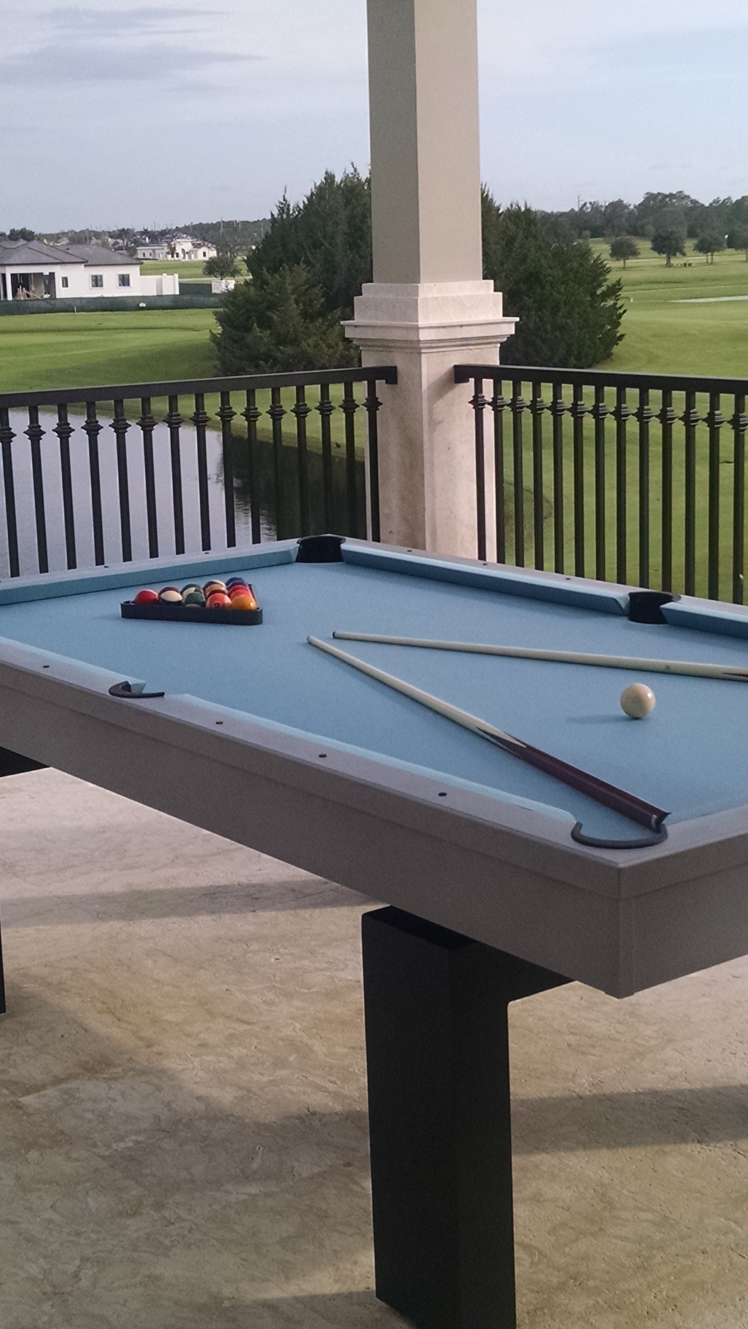 Pin By R R Outdoors On Modern Pool Tables Outdoor Pool Table