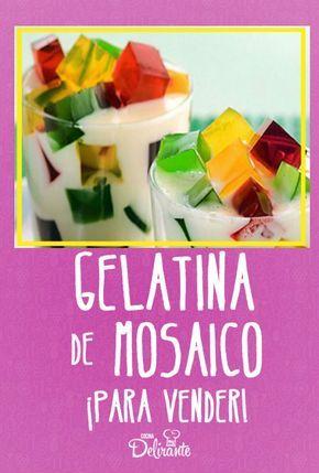 Prepara gelatinas en casa y ¡haz dinero! (incluye receta)