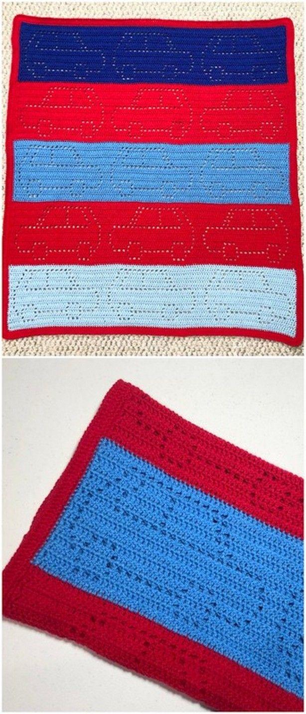 SUBMARINE Baby Afghan Pattern *Beginner* Crochet Patterns