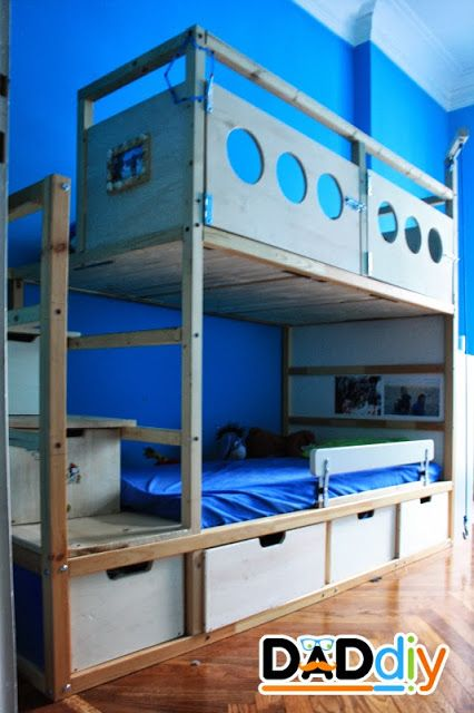 Great Way To Extend The Ikea KURA Bed That Boys Are Currently Using Hack