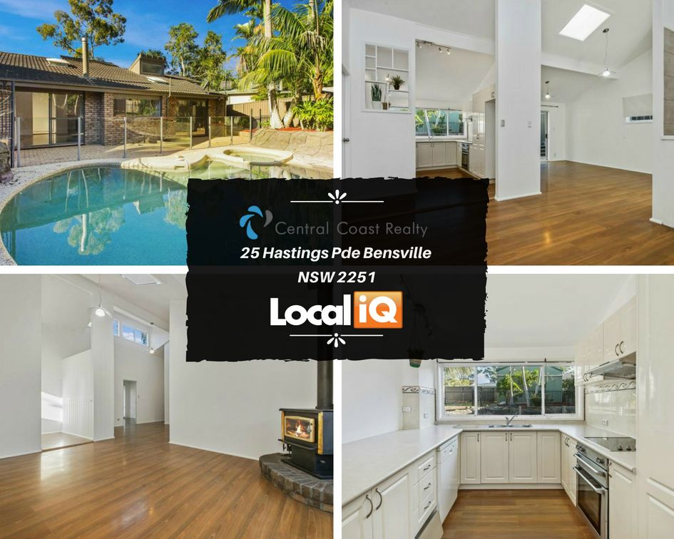 This Central Coast Realty Property Offers Light Filled Living Space Throughout The Home To Create A Perfect In Living Spaces Open Plan Living Built In Wardrobe