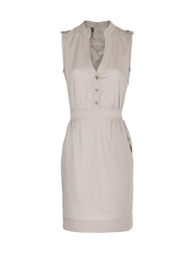 f823170f1 Vestido camisero lino y algodón - Mujer en 2019