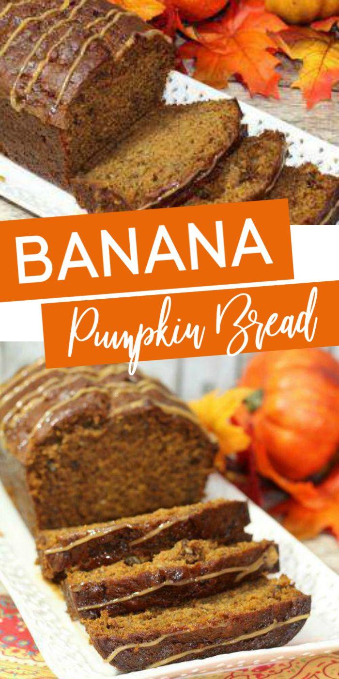 Banana Pumpkin Bread Recipe