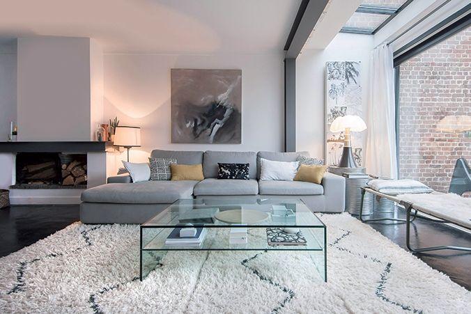 Maison cosy en black & white