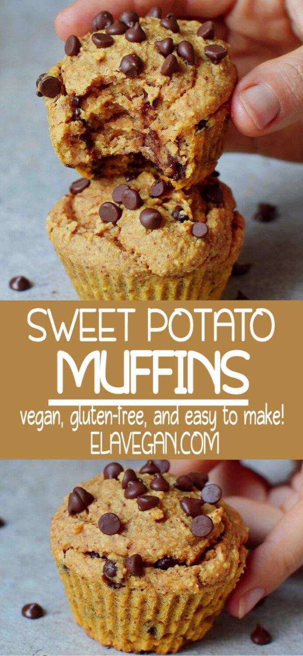 Chocolate Chip Sweet Potato Muffins