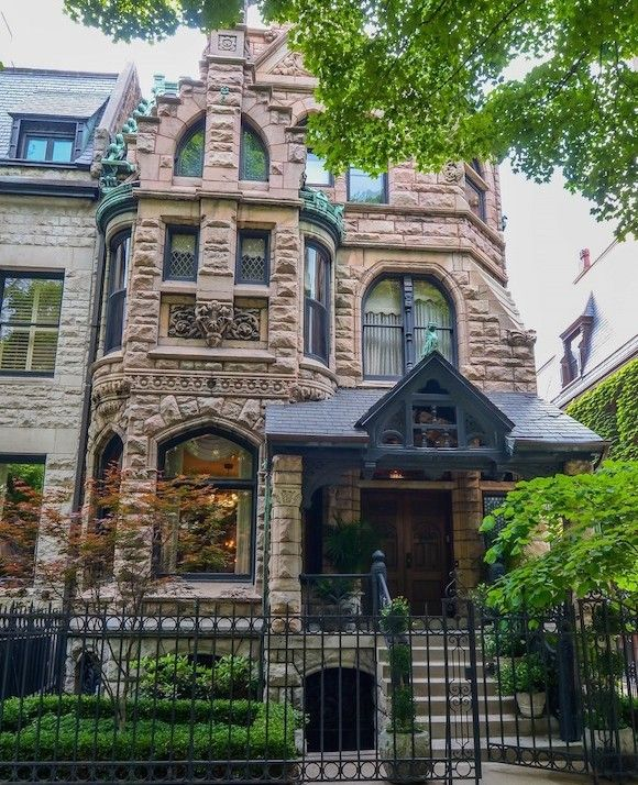 Mansion Grove Apartments: Magnificent Gold Coast Mansion 1428 N State Parkway