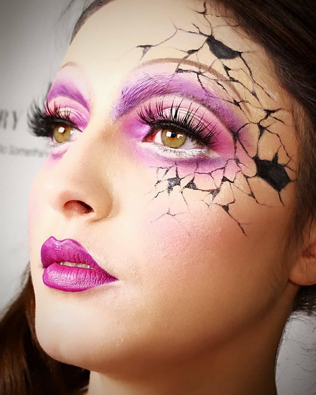 60 spooky halloween makeup ideas to set the evil mood | halloween