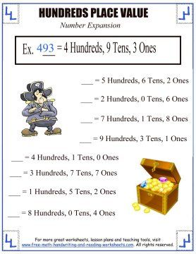 math worksheet : 1000 images about place value worksheets on pinterest  place  : Place Value Maths Worksheets