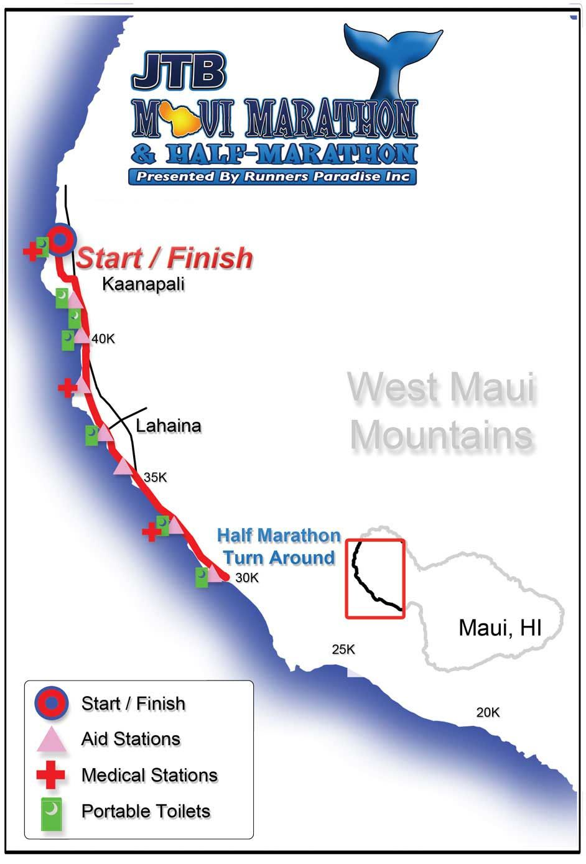 Half marathon half marathon marathon maui
