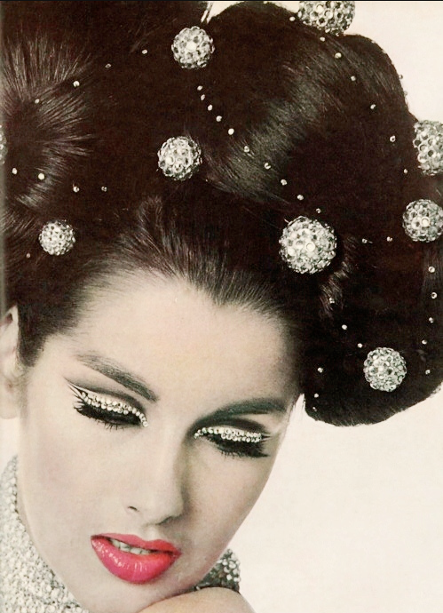 Veronica Hamel 1965, photo by Bert Stern