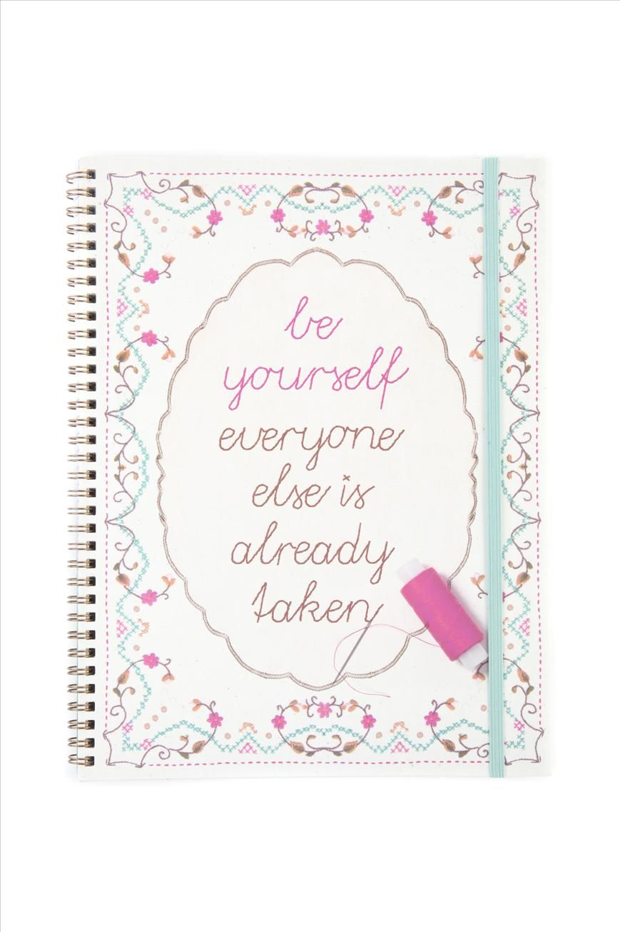 a4 spinout notebook   Cotton On