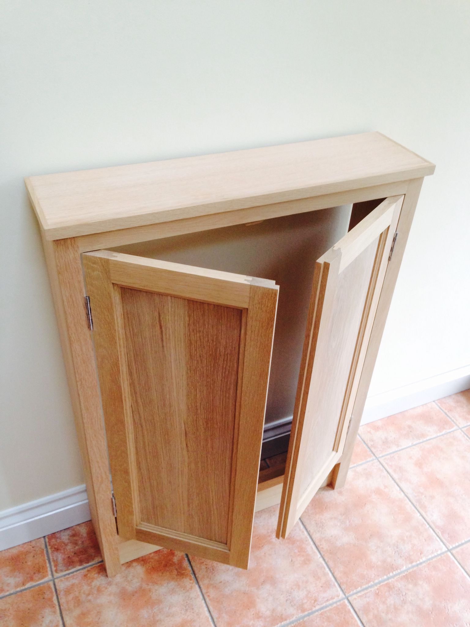 Oak fuse-box cupboard Oak Cupboard, Cupboard Storage, Storage Boxes,  Cloakroom Toilet