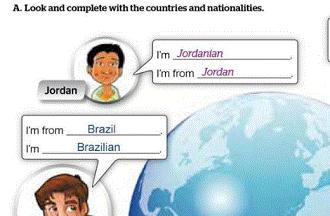 الإنجليزي أول متوسط الفصل الدراسي الأول Jordanian National Brazilians
