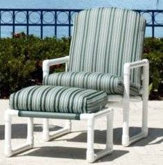 Marvelous PVC Patio Furniture   Use Existing Cushions For Dimensions Más