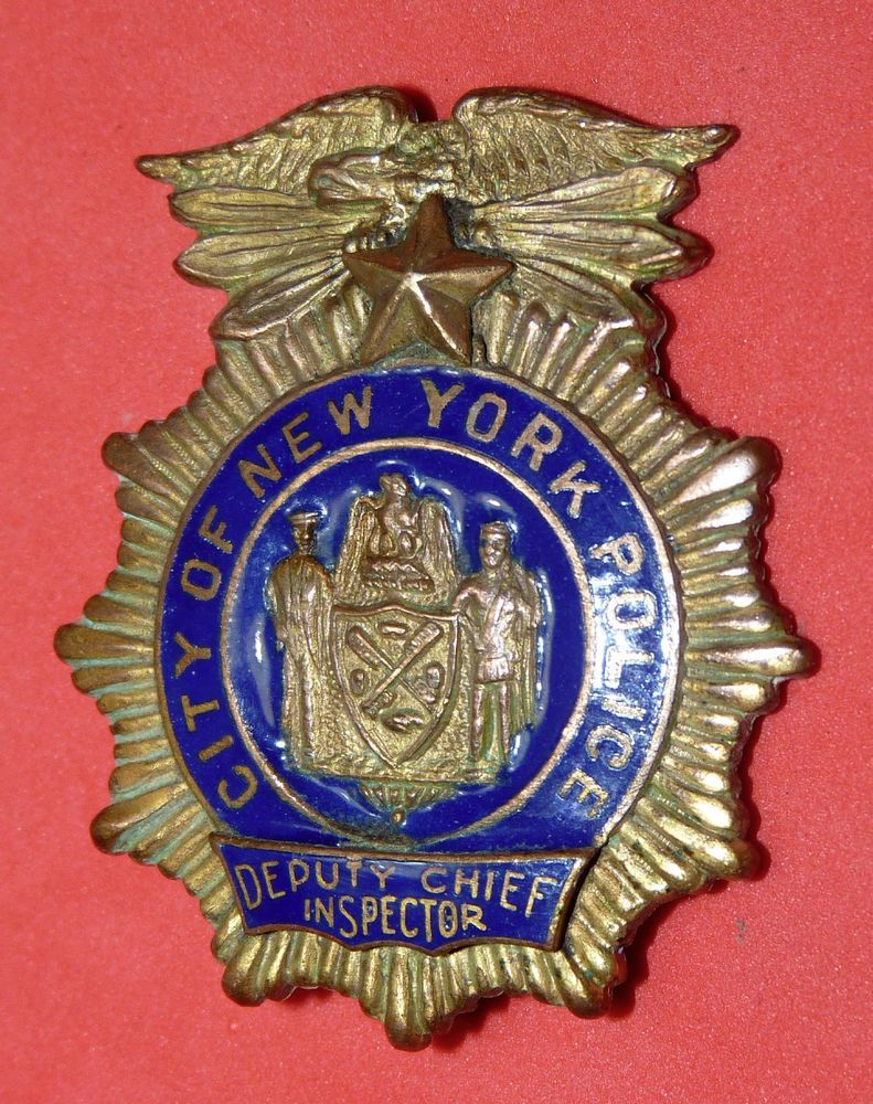 Nypd Police Badge