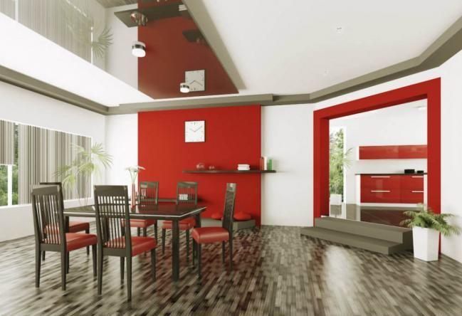 Ideas para pintar tus paredes de color rojo | pintar la casa ...