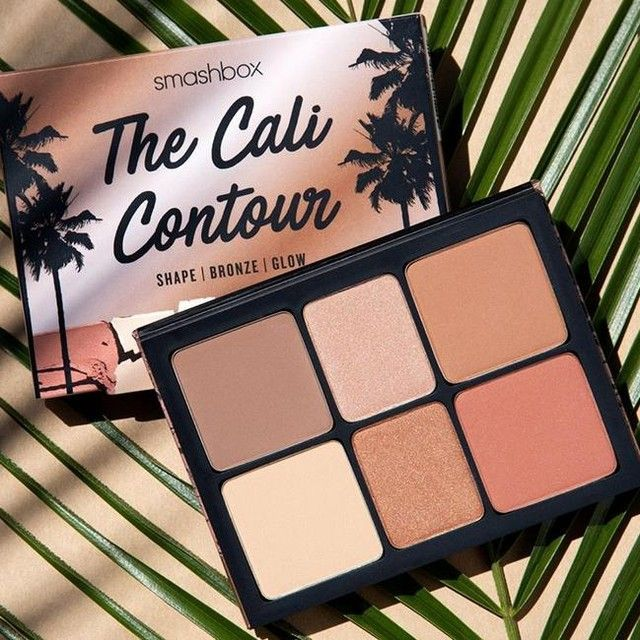 "Smashbox Cosmetics's Instagram photo: ""Summer-ready beauty inspo. 🕶️ ⠀⠀⠀⠀⠀⠀⠀⠀⠀ #CaliContourPalette #crueltyfree"""